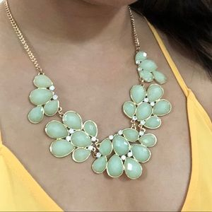 Dry Goods statement necklace in green